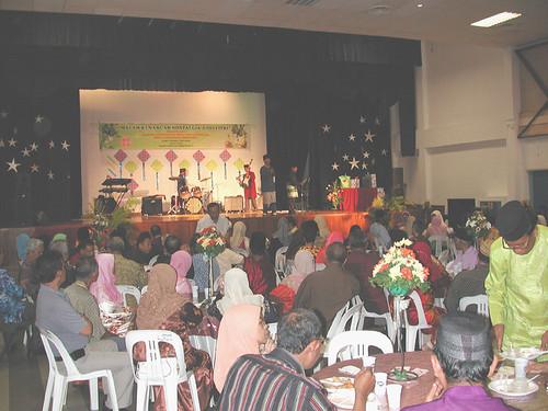 Suasana perjumpaan hari Raya