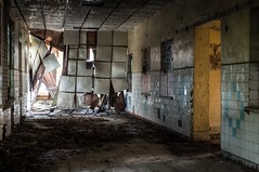 Crumbling (GregoireC - www.gregoirec.com) Tags: abandoned army ruins pentax decay military soviet ddr flektogon russian barracks hdr gdr ussr cccp kaserne urbex czj carlzeissjena flektogon2435 sttzpunkt k20d gssd carlzeissjenaflektogon35mmf24mc