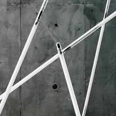 neon und beton :: neon and concrete (stemerk44) Tags: berlin architecture concrete arquitectura architektur beton akademie behnisch hormign knste