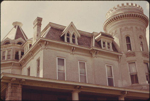 Restoration of a Late 19th Century Example of Victorian Architecture in Atchison, Kansas...06/1974