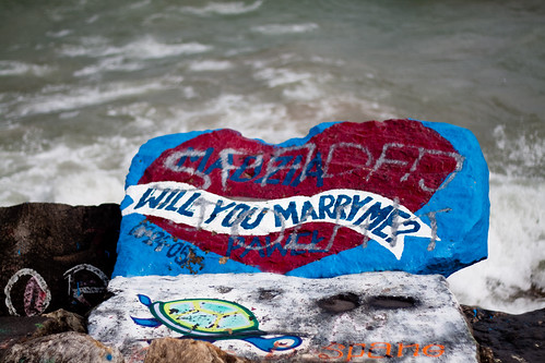 Rock Marriage Proposal