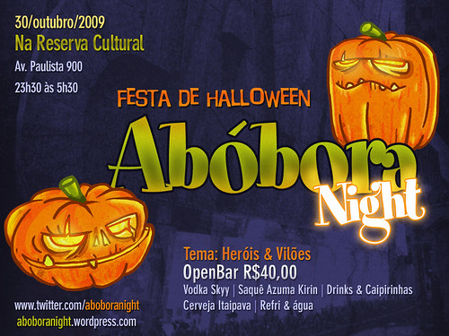 Abóbora Night!