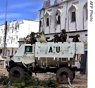 AMISOM troops under the banner of the African Union have been accused of deliberately bombing civilian areas of Mogadishu, including the Bakara market. Scores were reported killed on October 22, 2009. by Pan-African News Wire File Photos