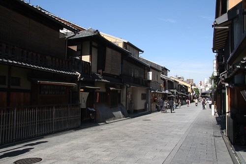 花見小路 Hanamikoji street