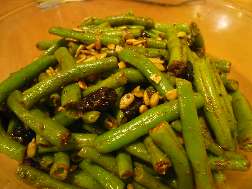 Curried green beans
