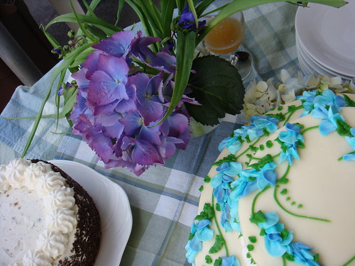 purple wedding cake blue food purple food white food photo