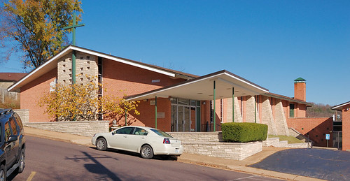 Saint Bridget of Kildare Roman Catholic Church, in Pacific, Missouri, USA - exterior