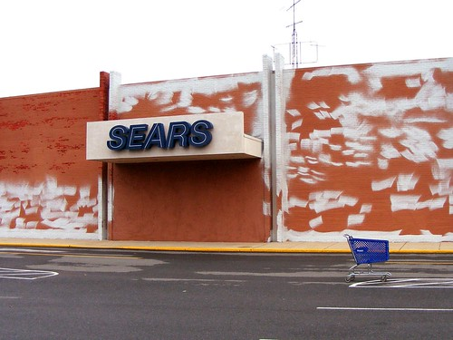 Repainting The White Oak Sears