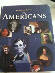 2002 Social Studies textbook in Cresent, Oklahoma: The Americans