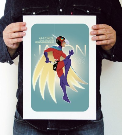 Battle of the Planets Prints