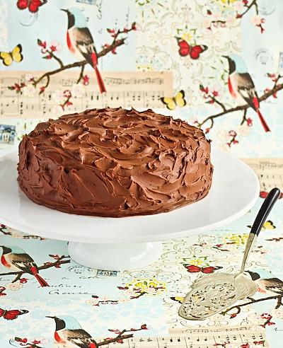 Chocolate Malt Cake Bon Appetit