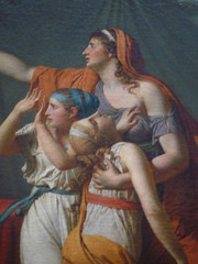 David, The Lictors Returning to Brutus the Bodies of His Sons Detail Of Mother and Children