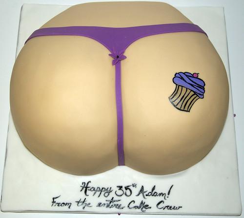 adult bum cake toronto