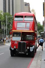 AEC RT 3708 - SYDNEY BUS MUSEUM (FlashFlyGuy) Tags: sydneybusmuseum londonbus queenvictoriabuilding sydney nsw newsouthwales australia
