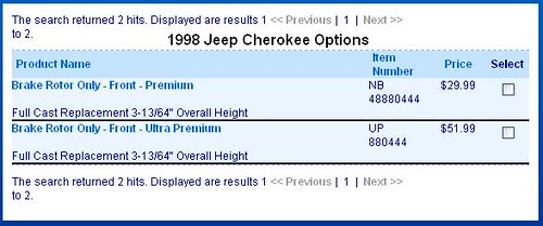 The Right Rotors For My Early 1999 Xj Naxja Forums North American Xj Association