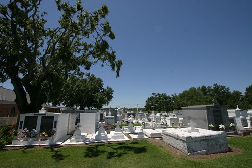 Cemetery in southern Louisiana.