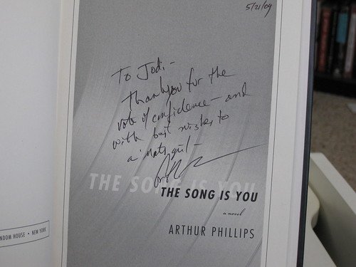 Arthur Phillips, The Song is You