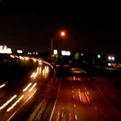 Southbound on I-35 (DFW Jeff) Tags: longexposure jeff streak i35 nighttraffic carsatnight lighttrial stachowski lighttrailers jeffstachowski dfwjeff