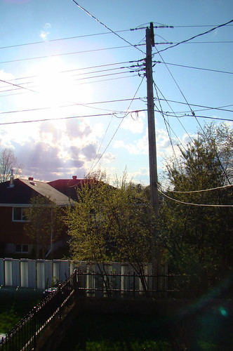 Powerlines in Capreol