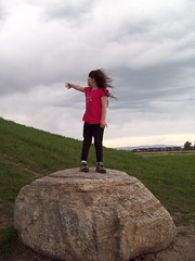 Windy (NatrLvrnMT) Tags: girl climb windy boulder