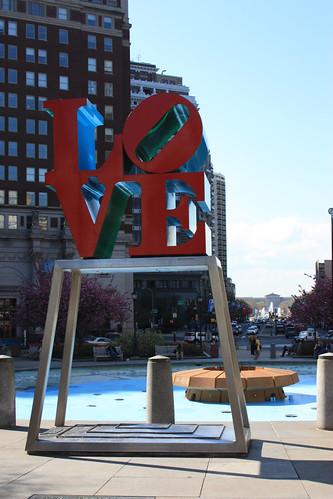Love Plaza (Philadelphia is the city of brotherly love)