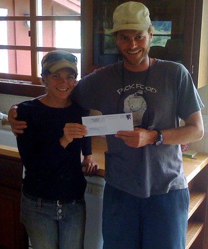 Fat Cabbage Farm's First Check