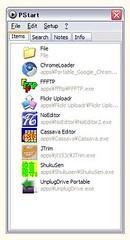 USBメモリに入れてるソフト2009