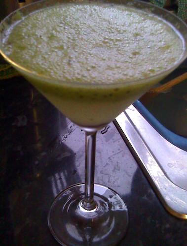 Kiwi cocktail...