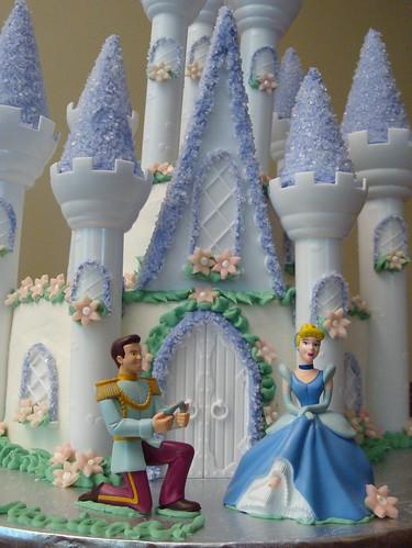 Cinderella's Castle Cake