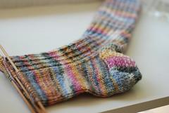 Sock in progress