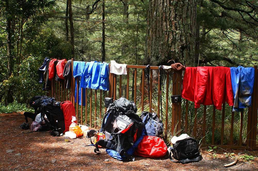 南湖大山day5-58 趕緊來曬衣服