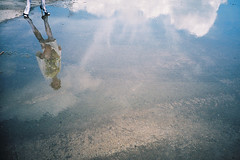 Lomo 0818 (ukaaa) Tags: blue sky woman haven reflection film feet water girl fashion clouds analog docks 35mm project puddle design student lomo lca lomography shoot fuji dress photoshoot belgium superia models belgi clothes master negative heels fujifilm pointandshoot analogue 135 mode ghent gent fotoshoot fujicolor superia200 kaai dokken dok eindwerk hanmannaert miraferyn karenvangodtsenhoven dokgent