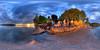 It's Get Fuzzy Time on Bainbridge Island! (Garret Veley) Tags: sunset panorama washington picnic pugetsound bainbridgeisland stitched 360x180 ptgui equirectangular photomatix canon15mm nodalninja3 canon5dmark2 garretveley