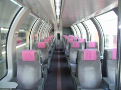 Train Chartering - Swiss observation car available for hire