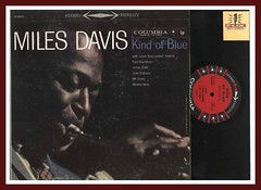 "Miles Davis ""Kind Of Blue"" Columbia Records CS 8163 Vinyl JAZZ lp stereo"