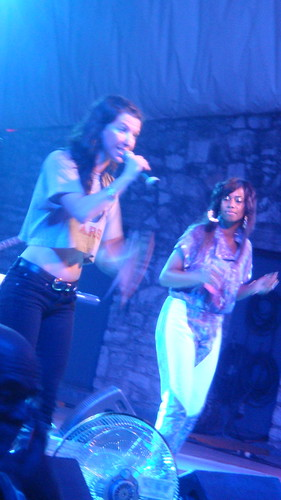Santigold and Amanda Blank by you.
