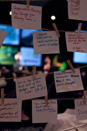 Pecha Kucha 4 was held during the ICLEI World Congress. Participants shared some of their wishes for a more sustainable city.