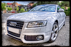 Audi A5 'Sky', HDR (marcp_dmoz) Tags: madrid auto sky espaa white blanco car clouds canon reflections germany deutschland eos spain himmel wolken german coche cielo nubes alemania audi weiss a5 hdr spanien reflejos deutsch deportivo alemn automobil sportwagen pkw 50d spiegelugen