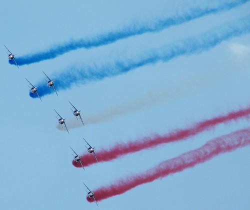 PARIS AIR SHOW 2009 / PATROUILLE DE FRANCE / SALON DU BOURGET