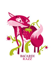 This magical Spirit... (deedeekid) Tags: pink design fox bacardi vector razz ddk lafraise deedeekid