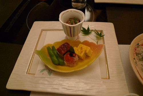 Kaiseki cuisine appetizer