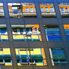colourful reflection ... (_nejire_) Tags: uk england colour reflection building london canon colours explore colourful carlzeiss f20 335 newcavendishstreet niftyfifty nejire 400d eos400d canoneos400d planart50mm 1145pm mhashi carlzeissplanart1450ze 5811276g10pm27june no342