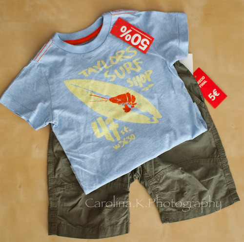 H&M Bargain T-shirt & Short Pants For Baby Boy - June 27, 2009
