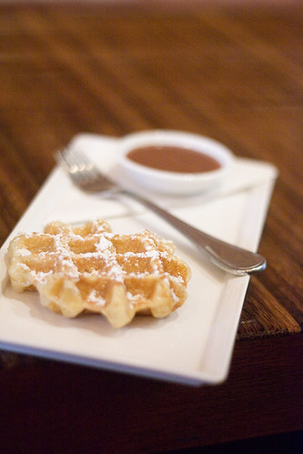 Belgian Waffle @ Cafe Medina