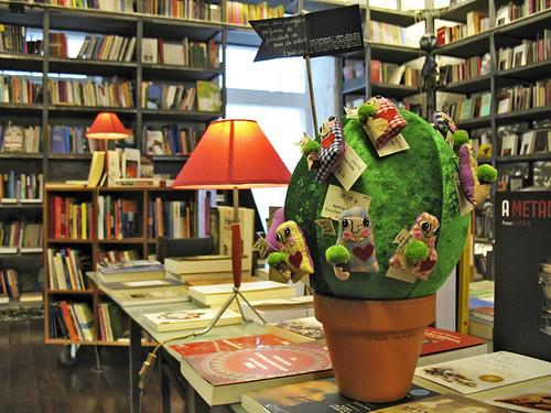 na Livraria Centésima Página - Braga