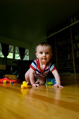 Wide Crawl (willstotler) Tags: leica boy portrait baby project toys duck toddler floor m8 drool crawl basho critique 18mm 1838 leicam8 willstotler projectbasho superelmar superelmar1838