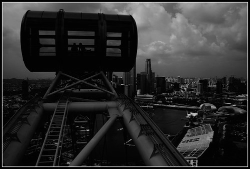 Projekt 52 - Singapur - Riesenrad