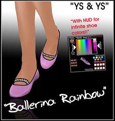 Ballerina Rainbow @ YS & YS