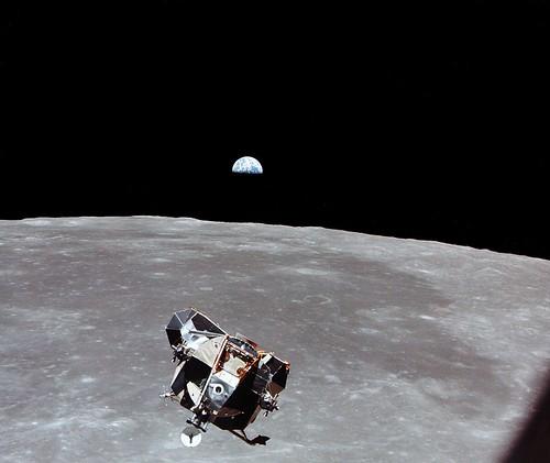 Leaving the Moon