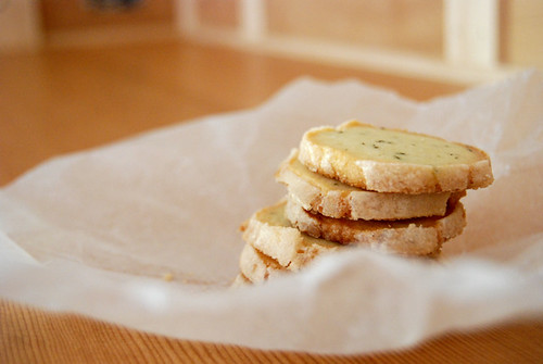 Rosemary Butter Cookies 5